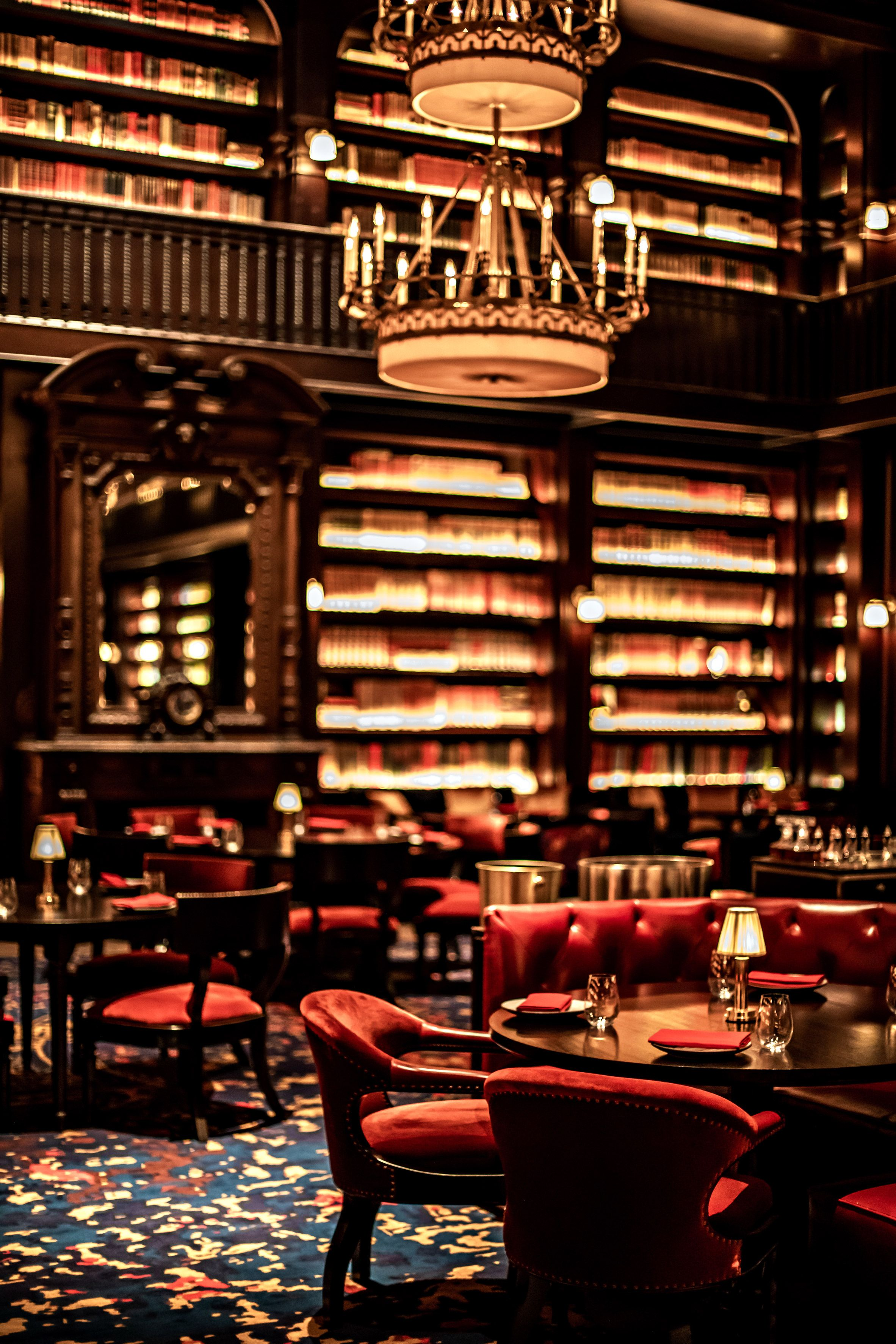 Nomad hotel 39 s third outpost redefines opulence on the las for Nomad hotel decor