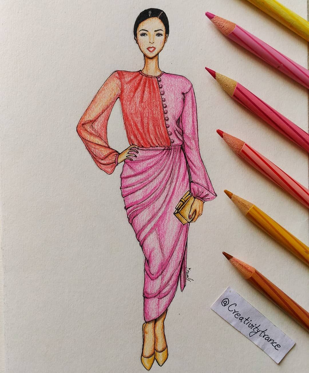 And Am Back To Sketching Fashion Illustration Today S Inspiration Is Charming Sophia Illustration Fashion Design Fashion Sketchbook Fashion Design Drawings