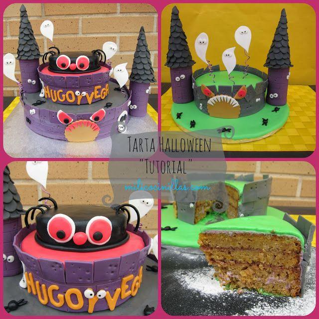 Halloween CakeTutorial Tartas fondant Pinterest Halloween - halloween cake decorating pictures