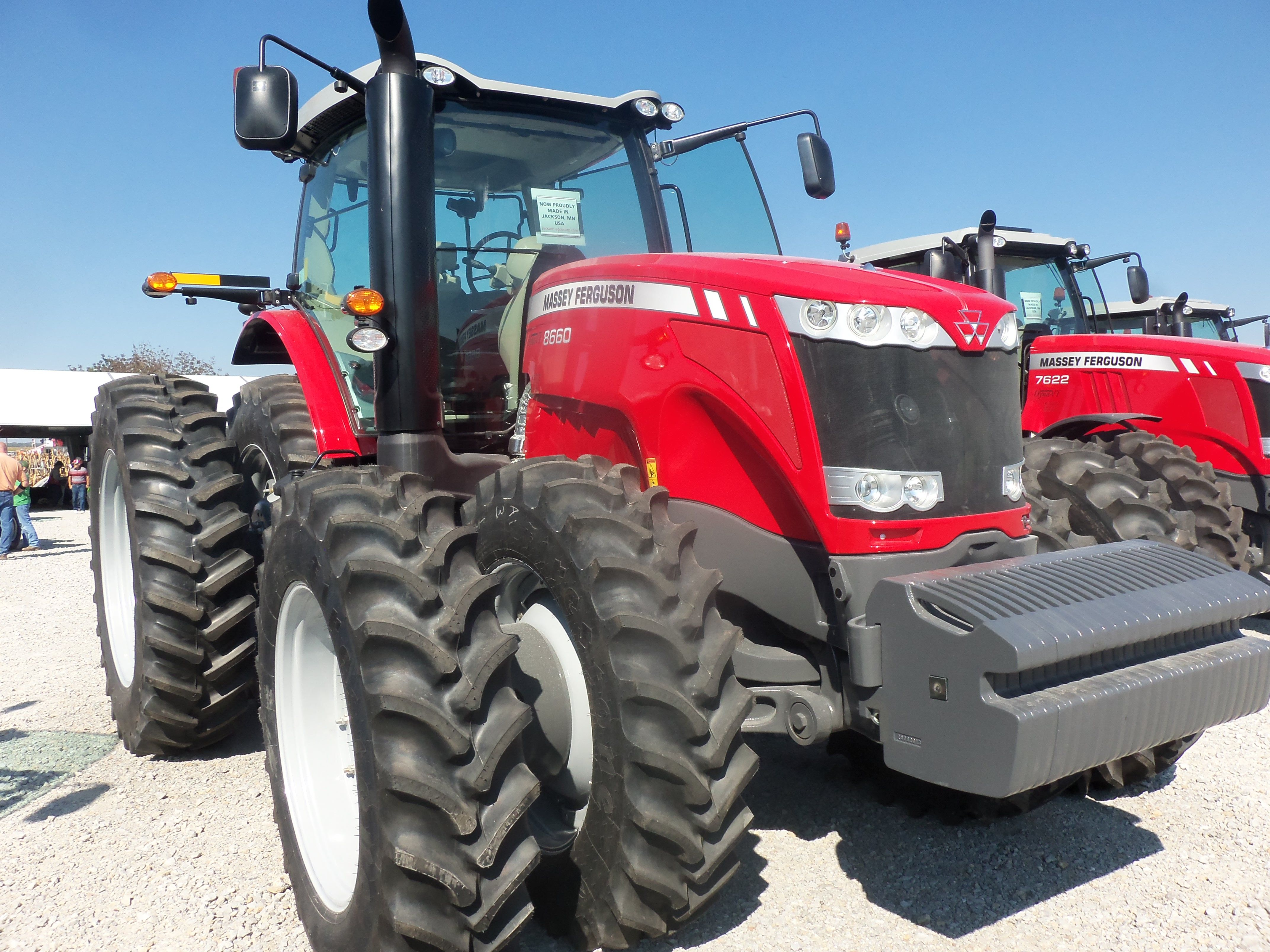 Front Duals For Tractors : Massey ferguson row crop tractor with front duals