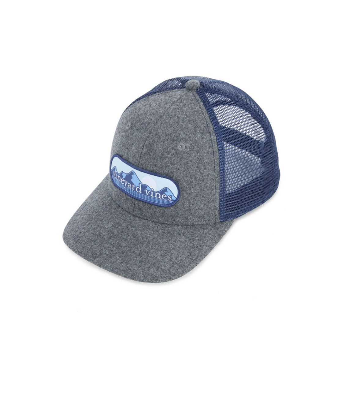 56850ea6 vineyard vines Mountain Patch Wool Trucker Hat | new arrivals in ...