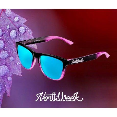 online últimos diseños diversificados lista nueva Gafas de sol Northweek serie GRADIANT Pink - Ice Blue ...
