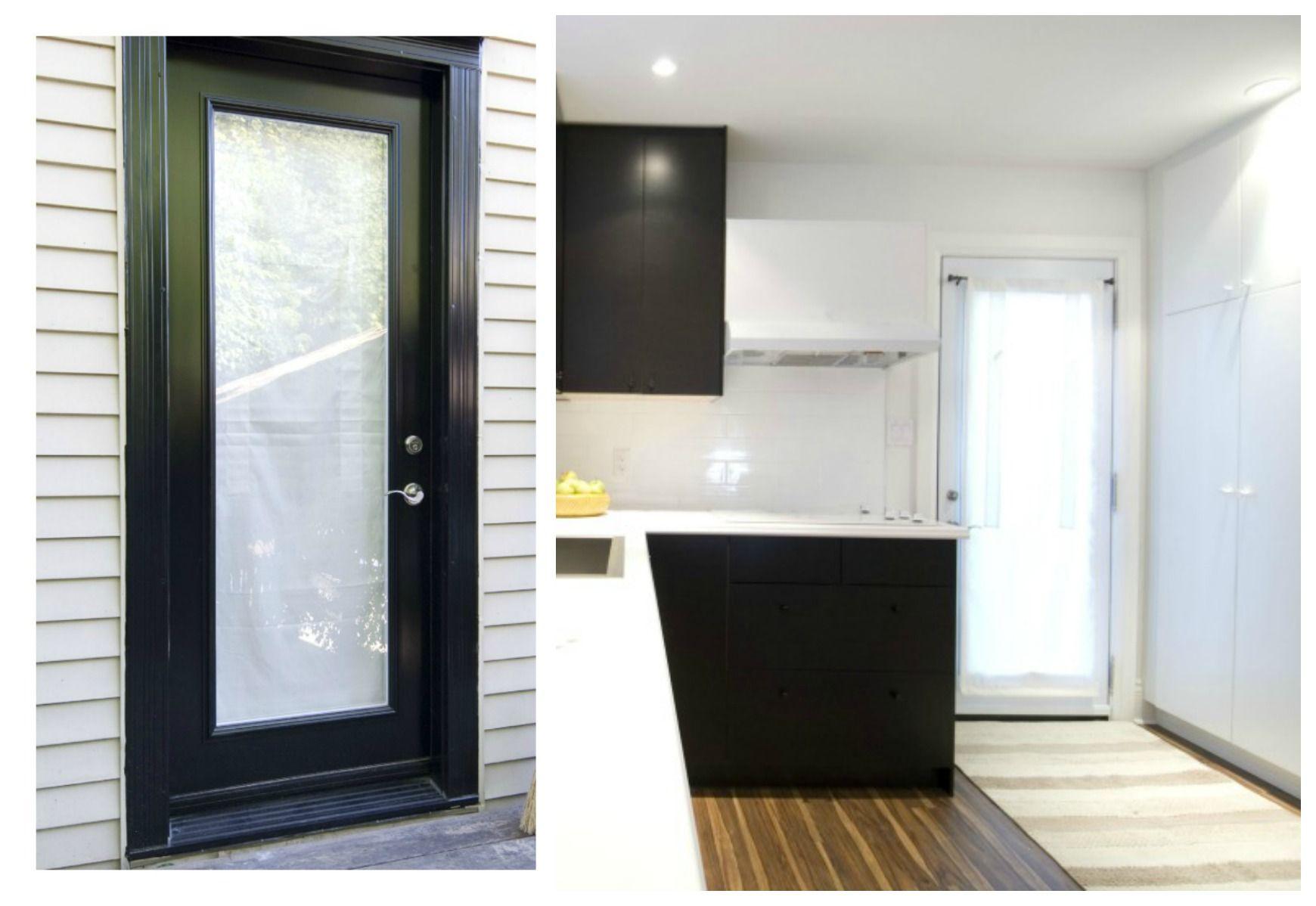 New Tru Tech Rear Entry Door Income Property Hgtv Basement Appt
