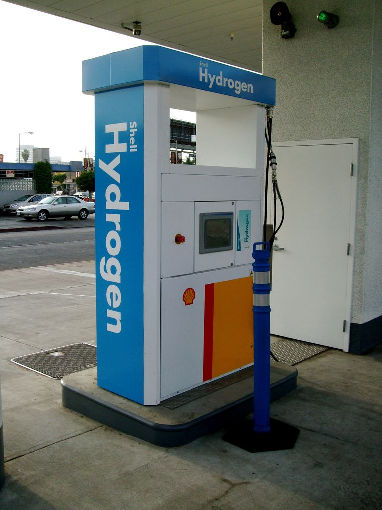 Shell Hydrogen Gas Station Pumps Pinterest Shell
