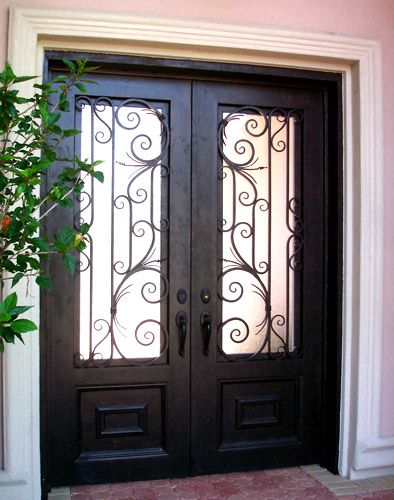 Doors Design: Without Sidelights (that Would Be The Side Glass Panels On