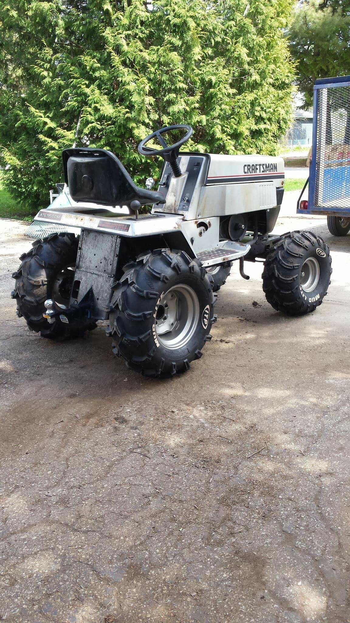 Craftsman Mud Mower Tractor Mower Yard Tractors Lawn Mower Repair