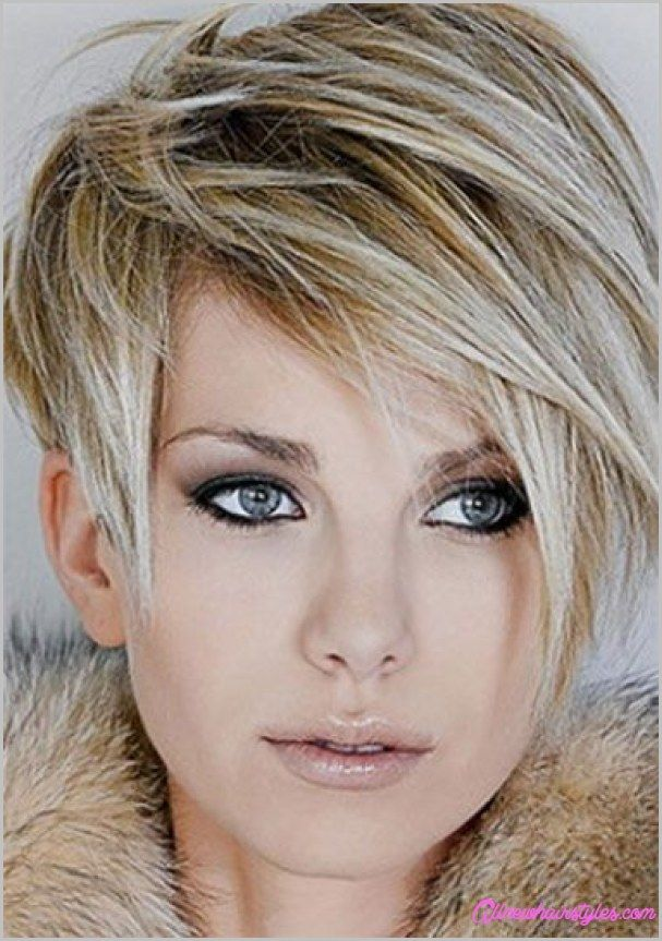 Awesome Short Asymmetrical Haircuts For Round Faces All New