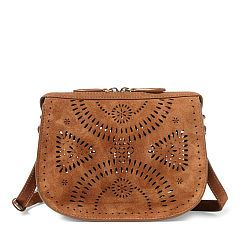 815448df97d7 Mini Suede Cross-Body Bag - Polo Ralph Lauren Crossbody Bags - RalphLauren .com
