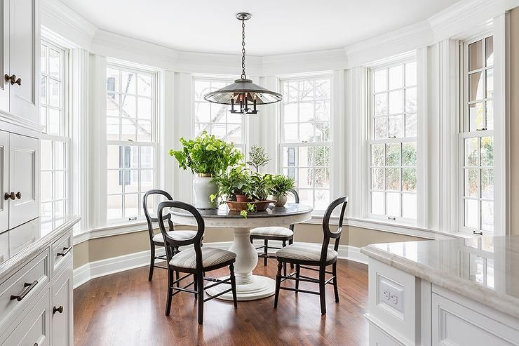 Amazing Gallery Of Interior Design And Decorating Ideas Breakfast Nook Bay Window In Dining Rooms Kitchens By Elite Designers