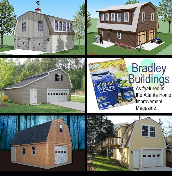 Bradley Bainbridge Two-Story Garage