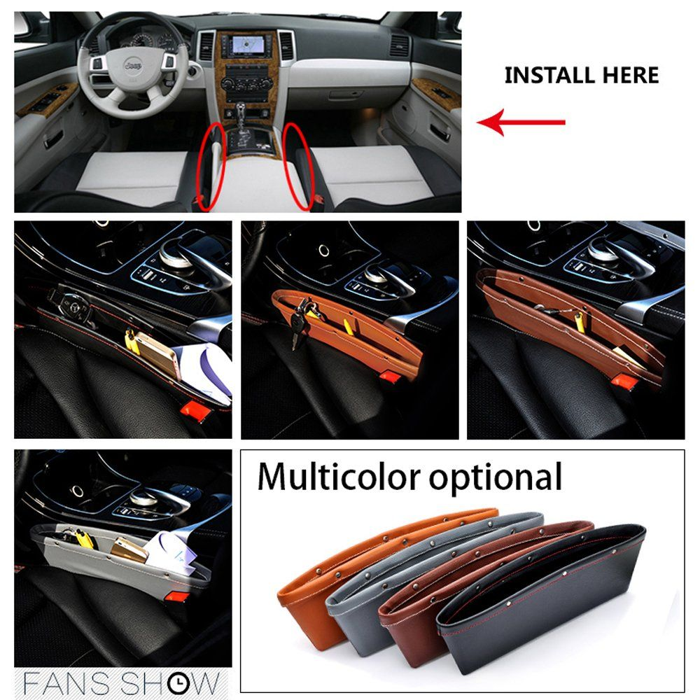 Car Center Console Fit Tesla Cubby Drawer Storage ABS Plastic and Carbon Fiber Box Glasses Box Customized Compatible with fit for Tesla Model X Model S Black