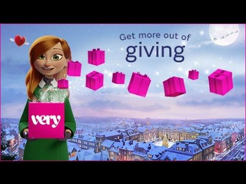 Very.co.uk Christmas Advert 2016 - Get More Out of Giving - YouTube