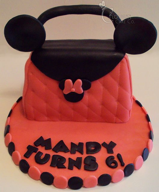 Minnie Mouse Purse Cake Cakes And Cupcakes For Kids Birthday Party
