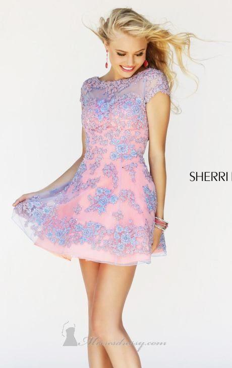 Sherri Hill | Dresses | Pinterest | Sadie robertson, Bodice and Neckline