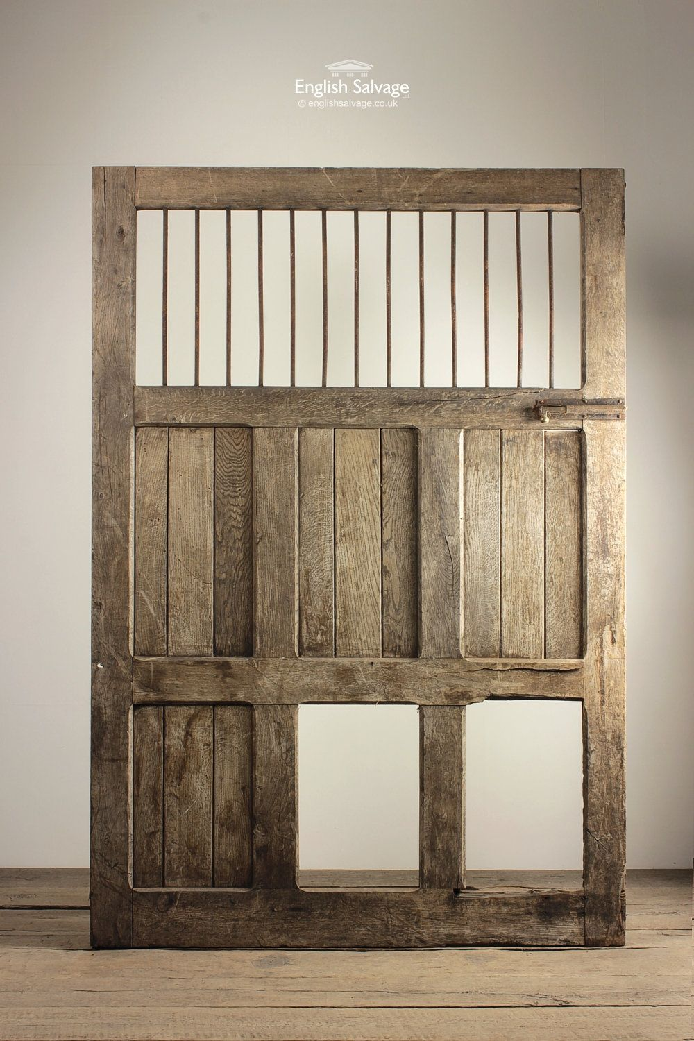 English Salvage (formerly Leominster Reclamation) are the premier architectural salvage and Reclamation Yard in the UK. Providing everything from reclaimed ... & Antique Oak and Metal Bar Top Stable Door | Reclaimed Doors ... pezcame.com