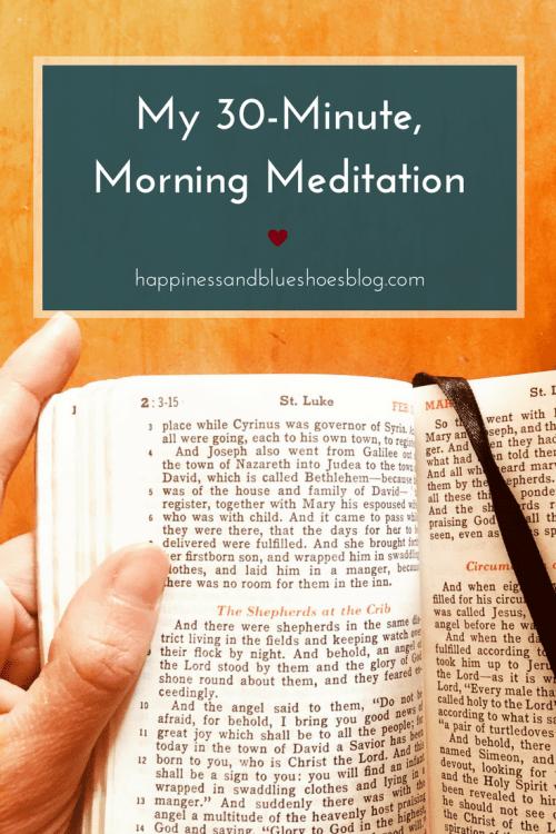 My 30-Minute Morning Meditation | Morning meditation ...