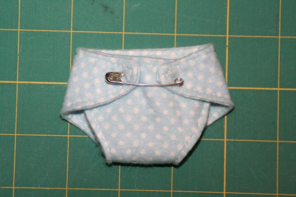 Tutorial for sewing diapers for preemies and micro preemies (and ...