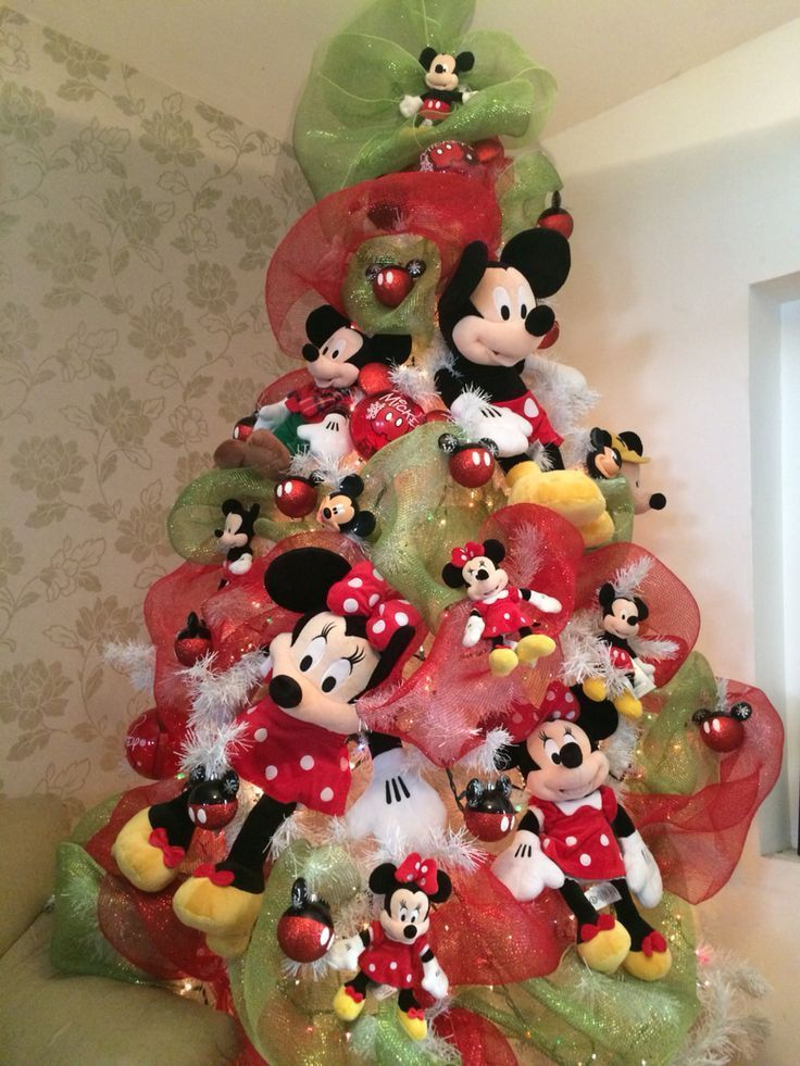 Decoraci n navide a con tema mickey mouse mickey mouse for Todo decoracion hogar
