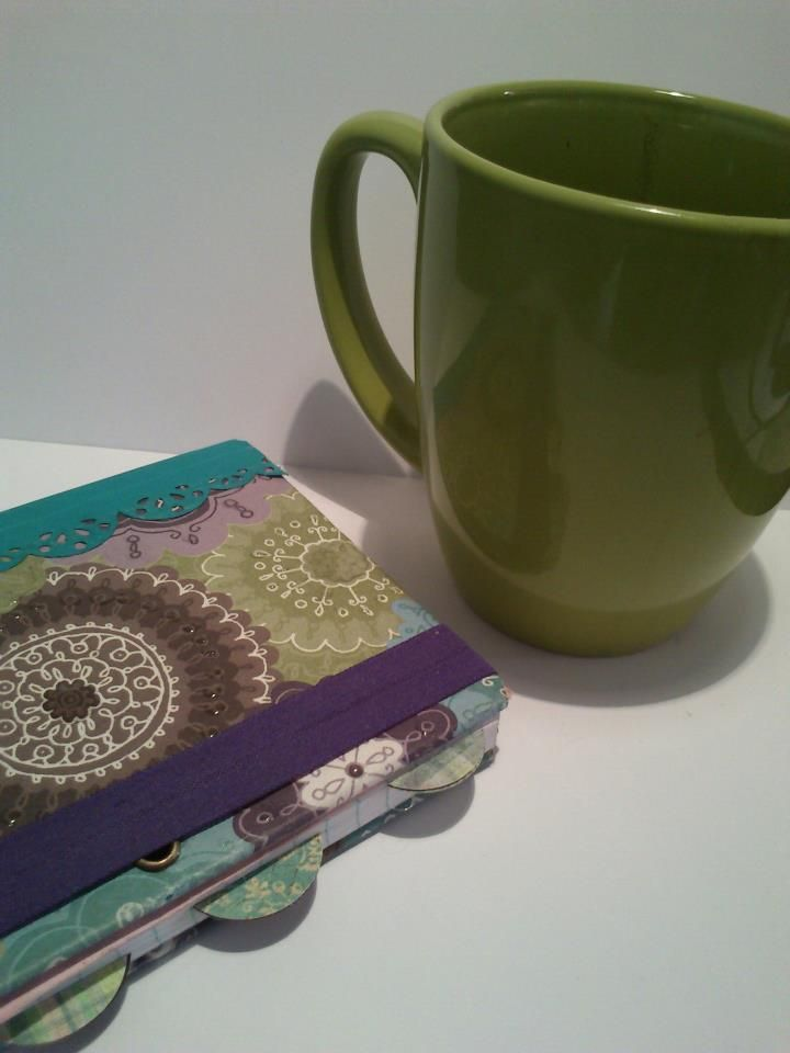 Notebook and a cup of COLOMBIAN coffee!!