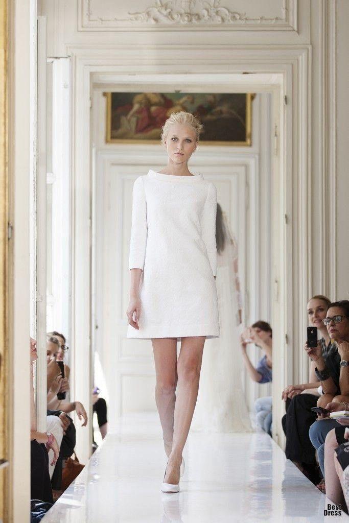 Gorgeous City Hall Wedding Dresses for the Stylish Bride | Pinterest ...