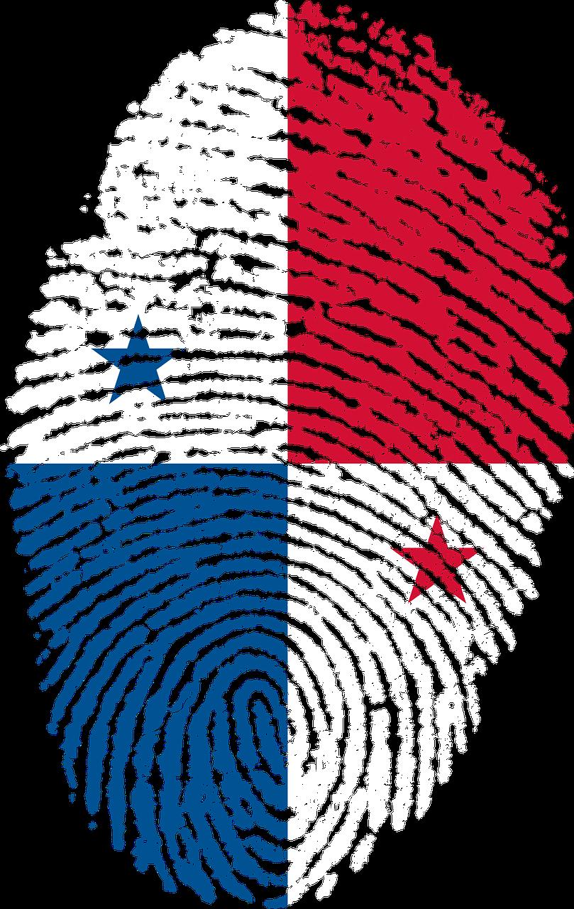 Travel Panama Flag Fingerprint Country Travel Panama Flag Fingerprint Country Panama Panama Flag Panama City Panama