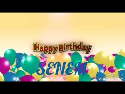 Dogum Gunun Kutlu Olsun Senem Youtube Traveling By Yourself Neon Signs Happy Birthday