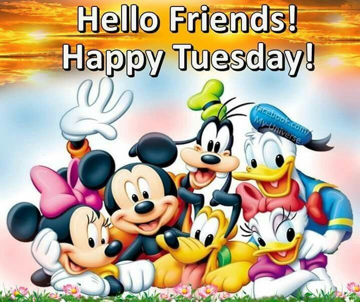 Hello Friends! Happy Tuesday day tuesday tuesday quotes happy ...
