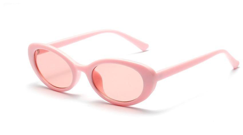 50a922cb402 Peekaboo retro oval sunglasses women small summer accessories 2018 pink  white black oval sun glasses for men retro uv400