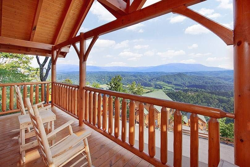 Paradise Point 1 Bedroom Cabin Rental Smoky mountains