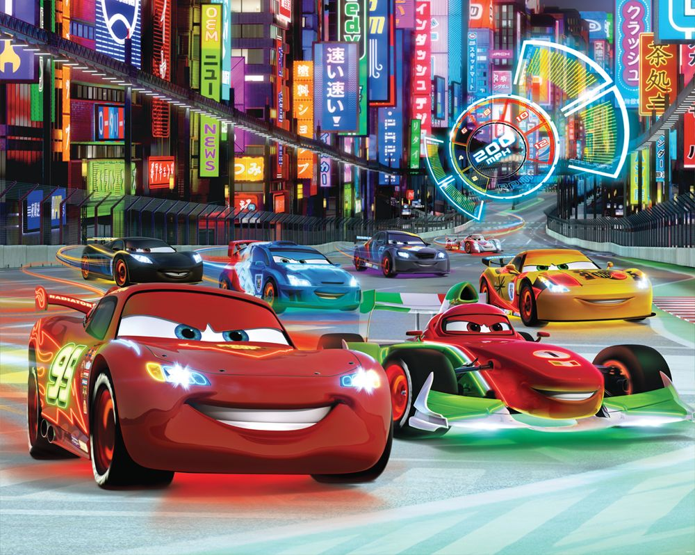 [ Disney Cars Wall Mural Lightning Mcqueen Bernoulli Xxl Photo Wallpaper ]    Best Free Home Design Idea U0026 Inspiration Part 25