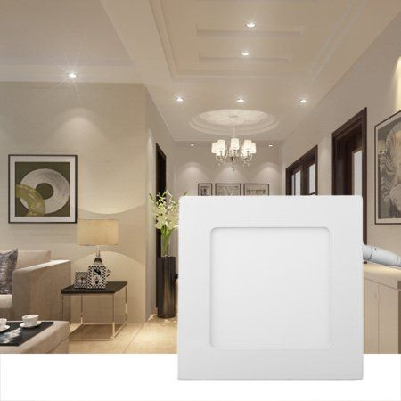 Panel Down Light 1320lm Square Bright Green Led Bulb Recessed
