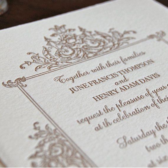 Marco letterpress wedding invitation sample letterpresses rsvp marco letterpress wedding invitation sample by paisleytreepress 1060 rsvp invitation return address stopboris Gallery