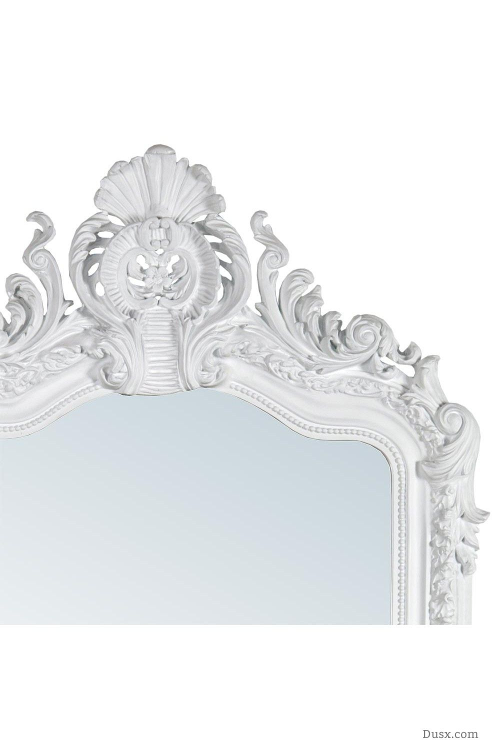 Anastasia french rococo white bevelled mirror for sale at dusx french mirrors chandeliers furniture aloadofball Images