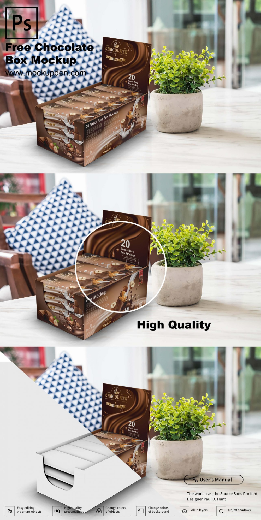 Download Best Chocolate Box Mockup 22 Free Premium Chocolate Packaging Psd Templates In 2020 Box Mockup Chocolate Packaging Packaging Template