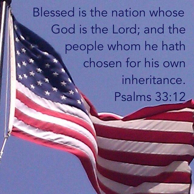 Memorial Day Bible Quotes: Psalm 33:12 KJB Bible Verses Valerie McDaris King James