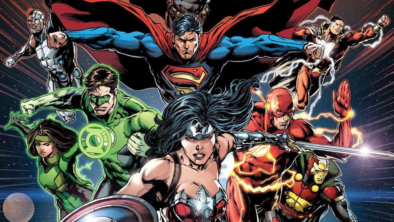 Justice League Justice League 50 Review Ign Justice League