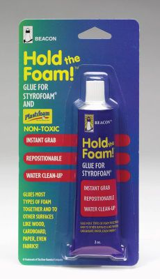 Hold The Foam Works On Just About Any Type Of Foam Offering Instant Grab Http Www Michaels Com Hold The Foam Gc0300 Default Pd Halloween Diy Foam Styrofoam