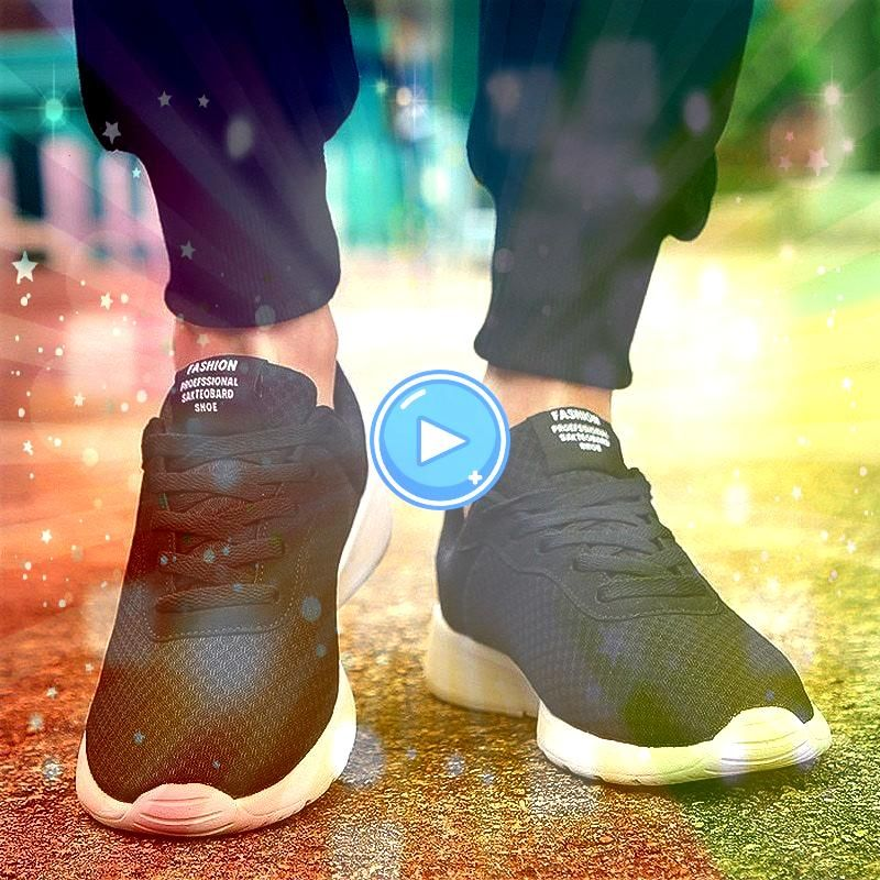 New Men Casual Shoes Lace up Men Shoes Lightweight Comfortable Breathable Walking Sneakers Tenis Feminino Zapatos2019 New Men Casual Shoes Lace up Men Shoes Lightweight C...