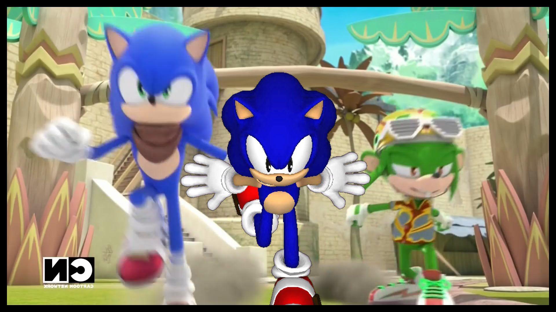 Sonic Boom Sonic Vs Modern Sonic Vs Classic Sonic Classic Sonic Sonic Boom Sonic