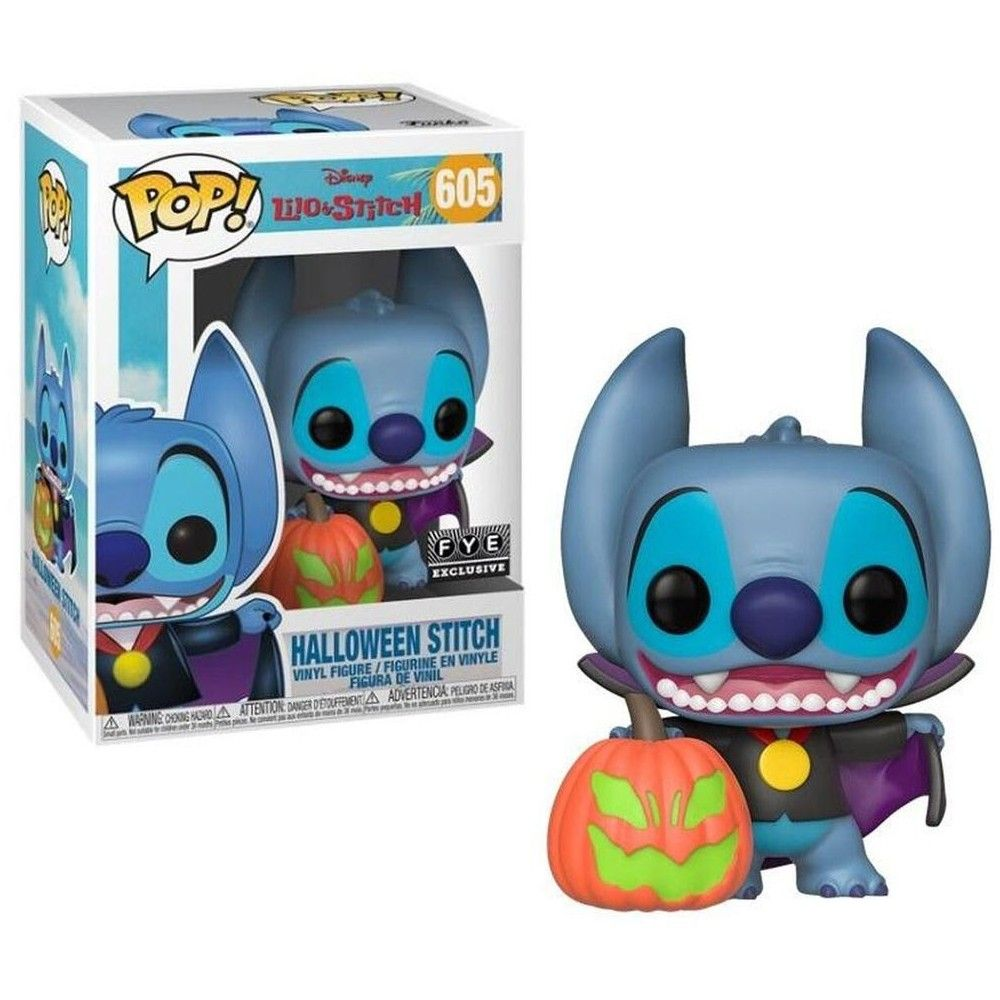 Halloween 2020 Lp Variatns Funko Lilo and Stitch POP! Disney Halloween Stitch Vinyl Figure in