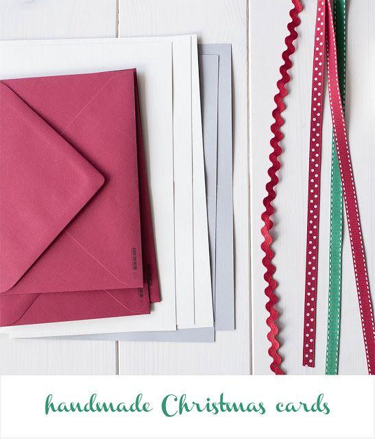 Cómo hacer tarjetas de Navidad   How to make Christmas Cards