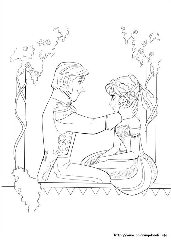 Frozen coloring picture | Disney\'s Frozen - Colouring Pages ...
