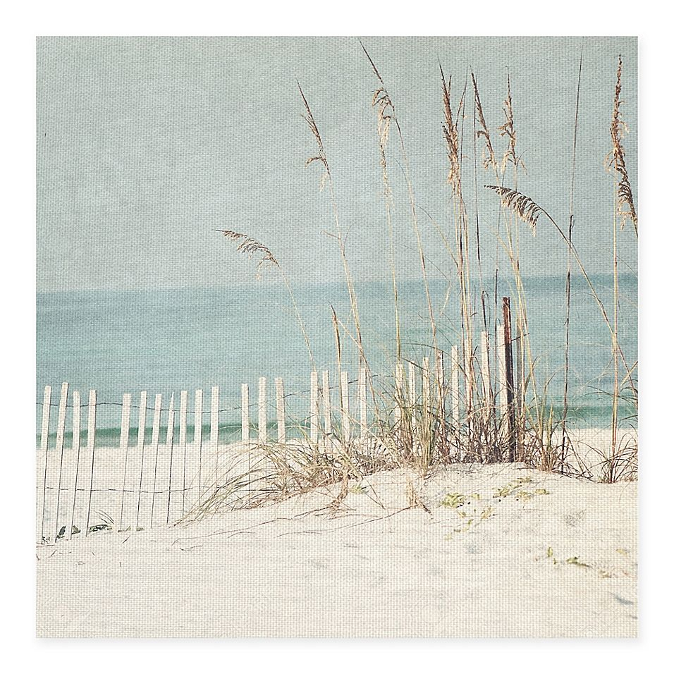 Masterpiece Art Gallery At The Beach 35 X 35 Canvas Wall Art Multi Beach Canvas Wall Art Beach Cottage Decor Beach Canvas Art