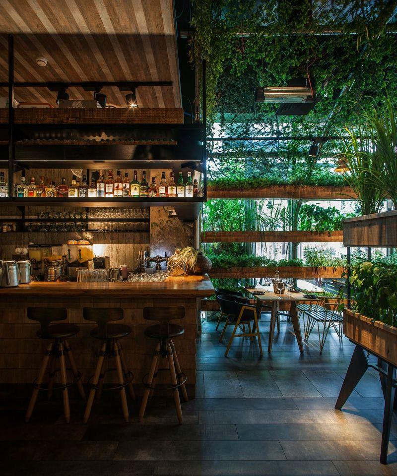 "Gewürz Gartengestaltung im Restaurant ""Segev"" in Israel | Israel and ..."