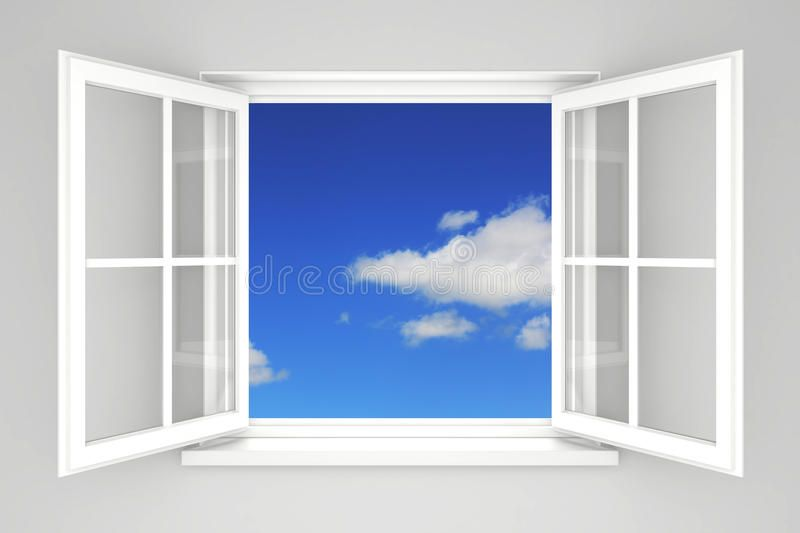 Open Window At The Blue Sky Aff Window Open Sky Blue Ad Open Window Window Photography Windows