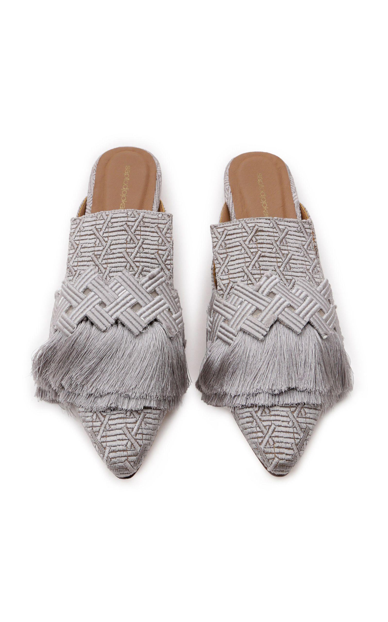 Saptodjojokartiko Tassel Mule I Dream Of Shoes Lots Lots Of