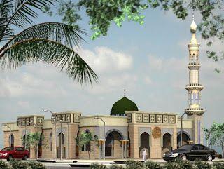 Project alqatif_mosque dwg | Architect | Mosque, Taj mahal, Building
