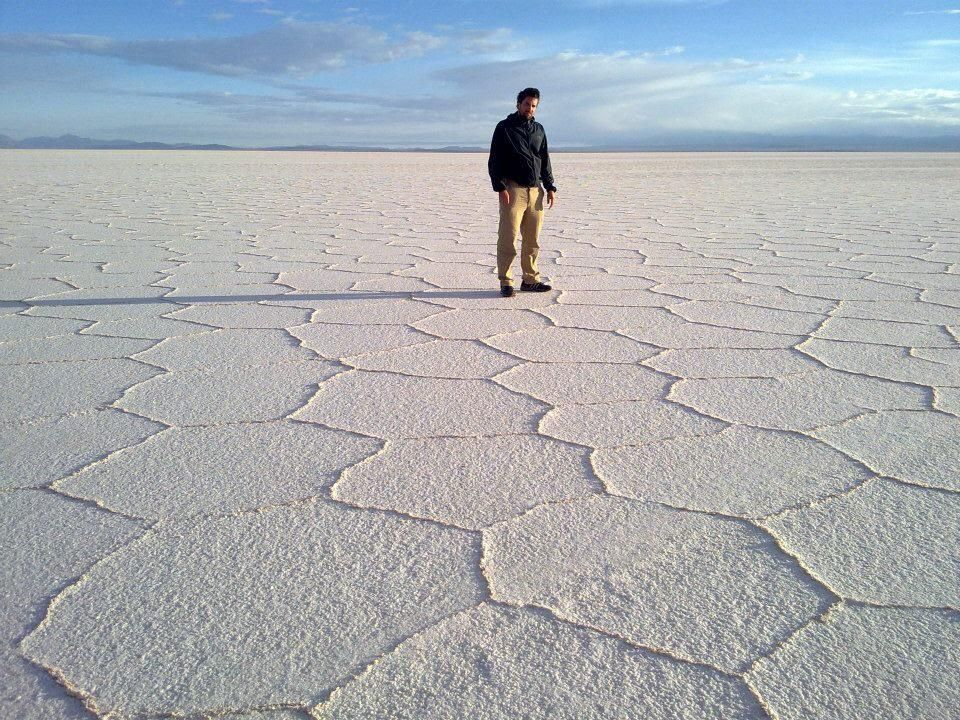#UyuniSaltFlat in #Bolivia will make you feel like you're on another planet!
