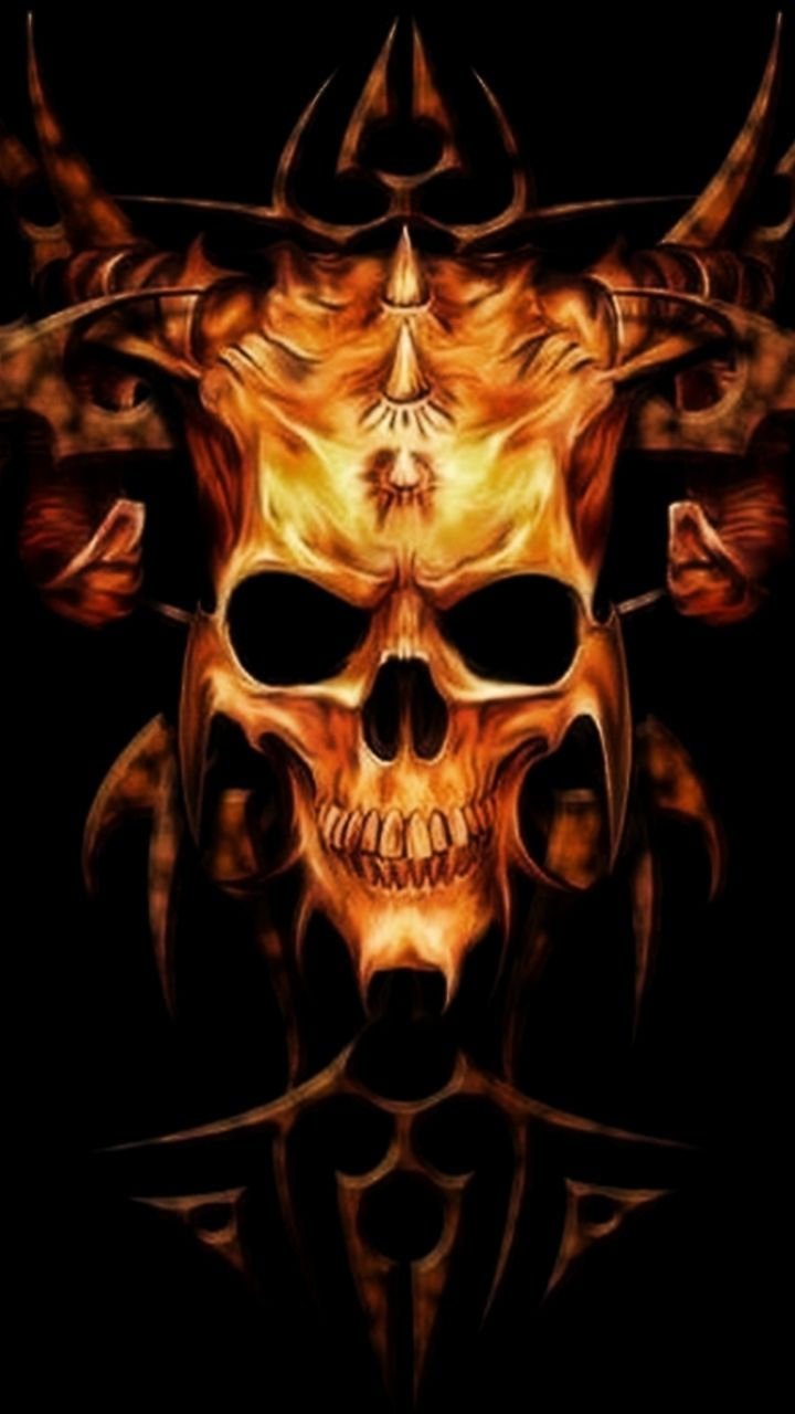 Heavy Metal Iphone 5 Wallpapers Skull Wallpaper Heavy Metal Skull