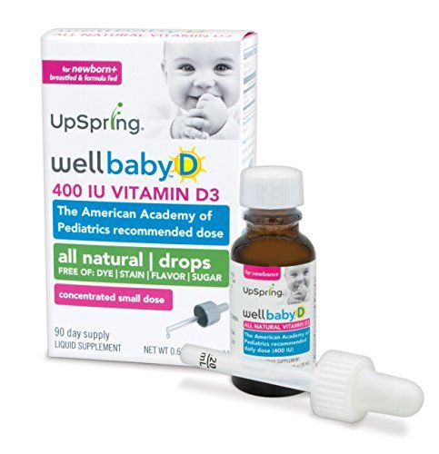 Upspring Wellbaby D Vitamin D3 Drops For Baby 20ml 400 Iu To View Further For This Item Visit The Image Link No Vitamin D3 Drops Baby Vitamins Vitamins